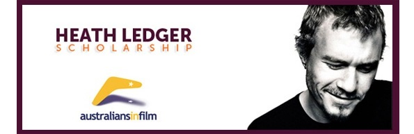 Heath Ledger's Australians in Film Scholarship
